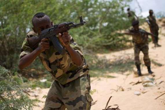 قوات من الجيش الصومالي