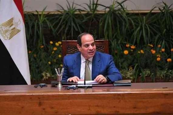 الرئيس عبدالفتاح السيسي خلال كلمته