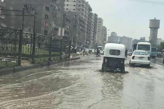 الامطار بالقليوبية