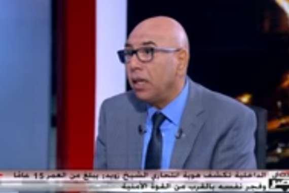 العميد خالد عكاشة، عضو المجلس القومي لمكافحة الإرهاب