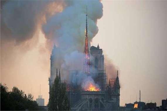حريق كنيسة نواردام