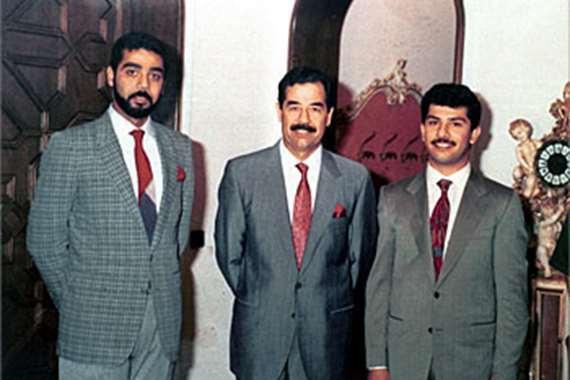 صدام ونجلاه