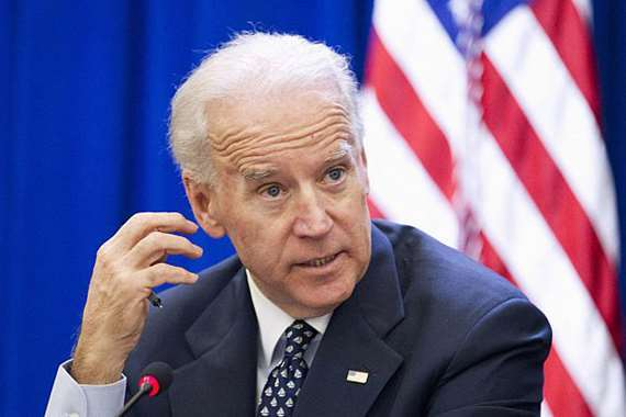 نائب الرئيس الأمريكى السابق جو بايدن