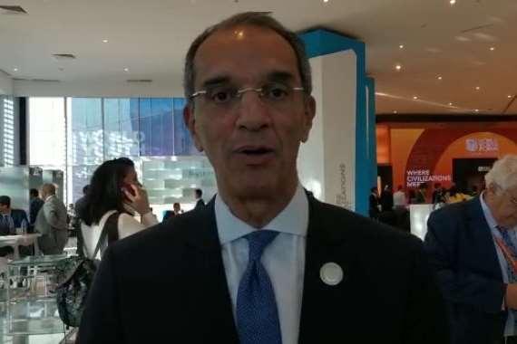 الدكتور عمرو طلعت وزير الاتصالات وتكنولوجيا