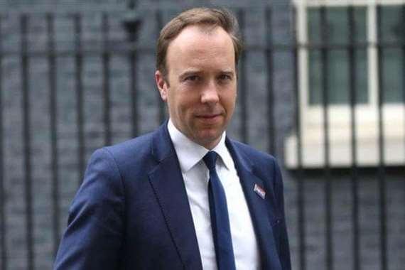 وزير الصحة البريطاني
