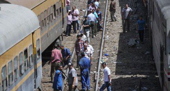 مصرع شخص سقط من القطار بمحطة مغاغة