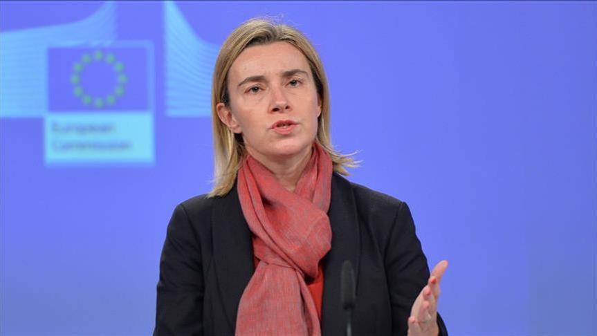 """موغيريني: أوروبا متفقة على """"وحشية"""" روسيا في حلب"""