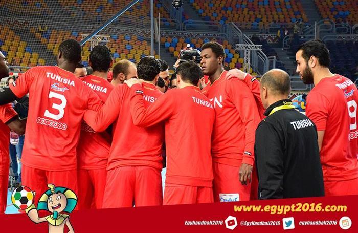 يد تونس تفوز على الكونغو الديمقراطية 37 /22 فى أمم أفريقيا