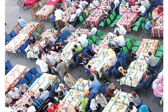 موائد الرحمن فى رمضان