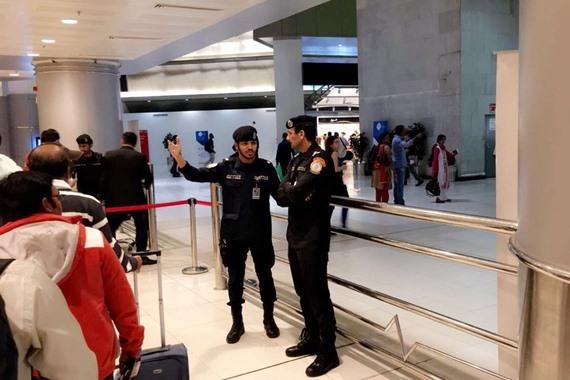 مقتل رجل أمن في مطار الكويت