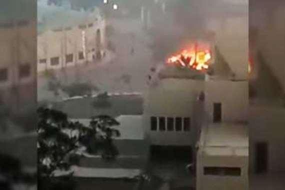 انفجار جامعة المنصورة