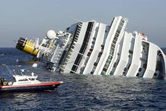 غرق سفينة (أرشيفية)