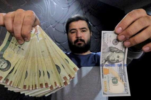 الدولار الأمريكي والريال الإيراني