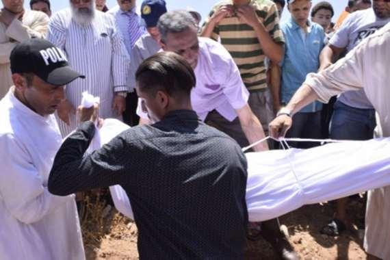 تشييع جثمان الفنان عبدالله العمراني