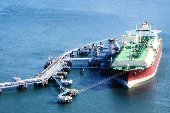 الغاز المسال لقطر من الامارات