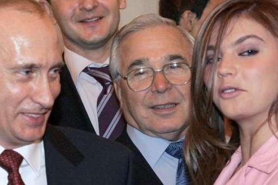 بوتين وصديقته البطلة الرياضية