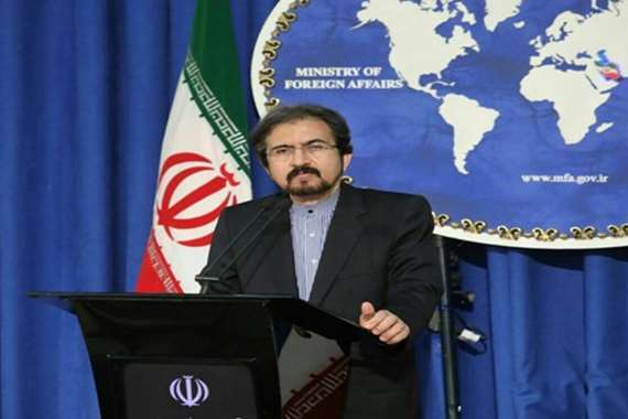 سفير إيران في باريس بهرام قاسمي