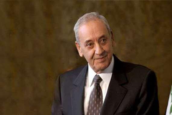 نبيه برى رئيس مجلس النواب اللبناني