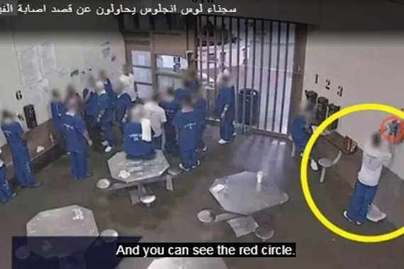 سجناء يتعمدون إصابة أنفسهم بكورونا