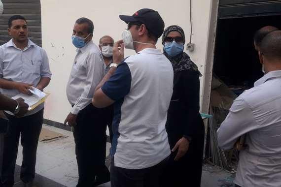 المغربى تعتزم إنشاء أول مصنع للكمامات في سفاجا