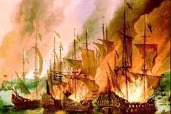 طارق بن زياد وحرق السفن