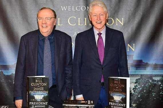 بيل كلينتون وجيمس باترسون