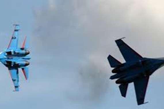 مواجهة بين مقاتلات روسية وطائرة أمريكية