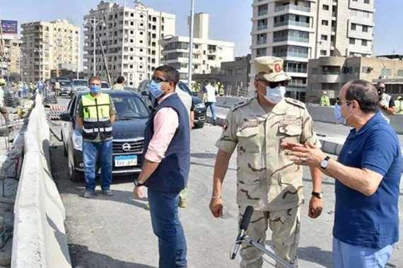 جولة «السيسي» للأعمال الإنشائية بالقاهرة