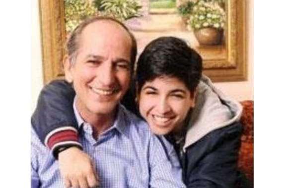 هشام سليم وابنته بعد عملية التحول