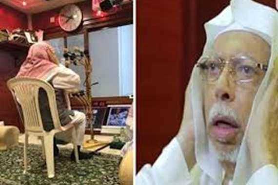 """لقب بـ""""بلال الحرم"""".. 45 عاما يصدح بالأذان في مكة"""