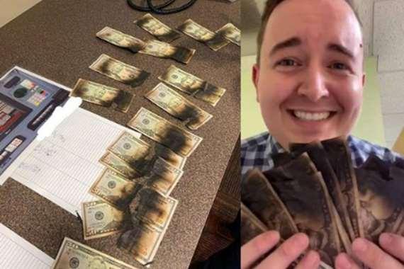 """حاول حرق كورونا بـ"""" الميكروويف"""".. ماذا حدث لأمواله"""