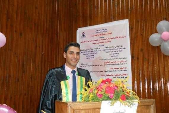 الباحث أسامة أحمد زارع