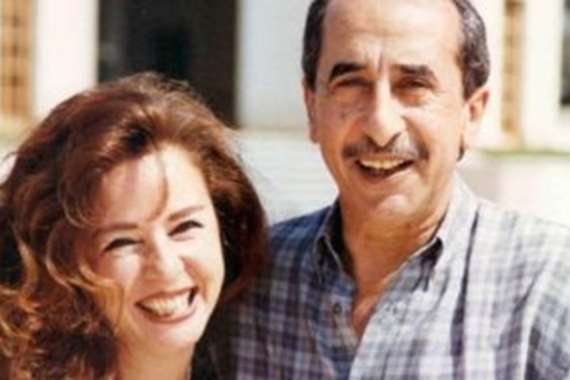 نجلاء فتحي وزوجها الراحل حمدي قنديل