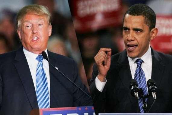 أوباما يوجه أعنف انتقاد لترامب