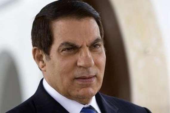 الرّئيس التونسي الأسبق، زين العابدين بن علي