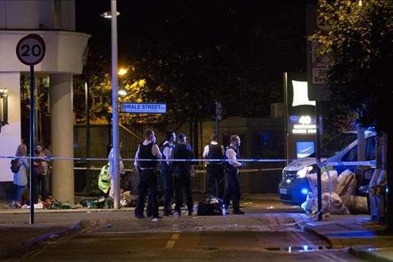 حادث دهس في لندن