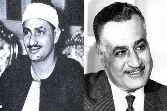 جمال عدبالناصر ومحمد صديق المنشاوي