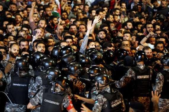 تظاهرات الأردن