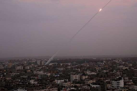 غزة تُطلق صاروخين باتجاه المستوطنات الإسرائيلية (أرشيفية)