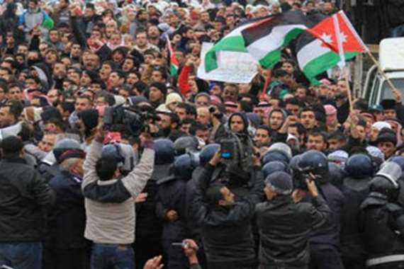 مظاهرات الأردن