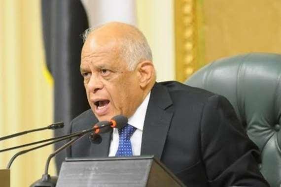 الدكتور على عبدالعال - رئيس مجلس النواب - أرشيفية