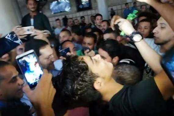 علاء مبارك في الحسين