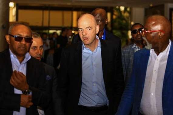 احمد احمد ورئيس الفيفا