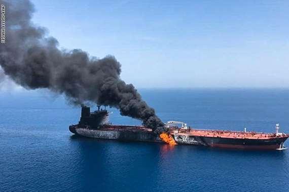 تفجيرات ناقلات  عمان