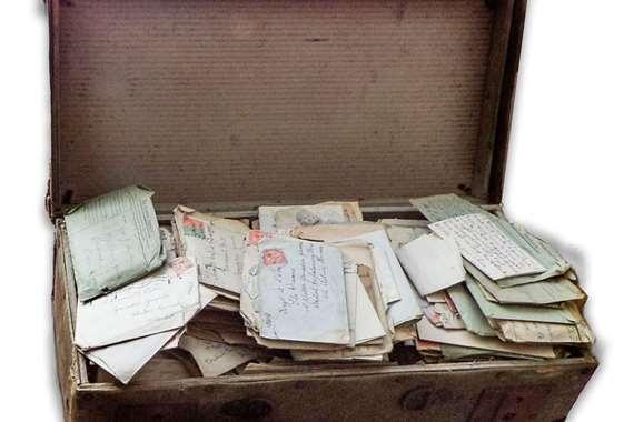 رسائل من الحرب العالمية الأولي