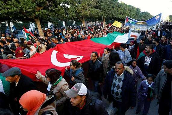 مظاهرات حاشدة في المغرب رفضا لـ «مؤتمر البحرين»
