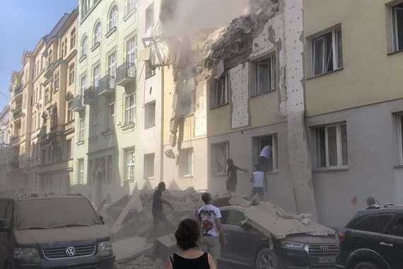 انفجار ضخم يهز العاصمة النمساوية فيينا