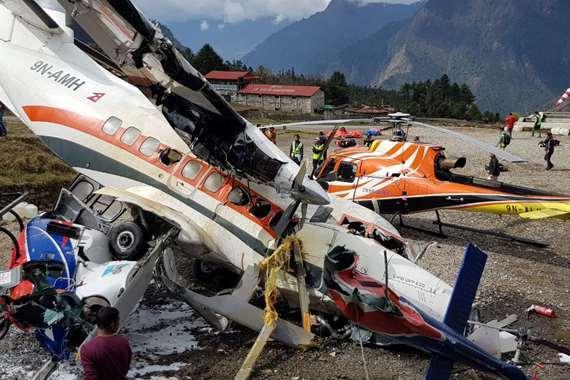 مصرع وإصابة 10 أشخاص في تحطم طائرة بكولومبيا