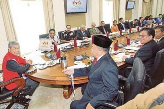 اجتماع للحكومة الماليزية