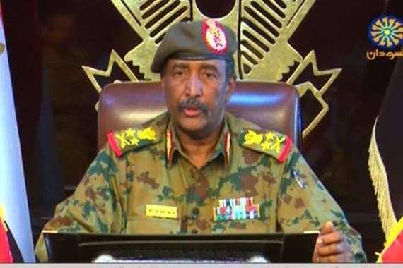 رئيس المجلس العسكري الانتقالي السوداني الفريق أول عبدالفتاح البرهان